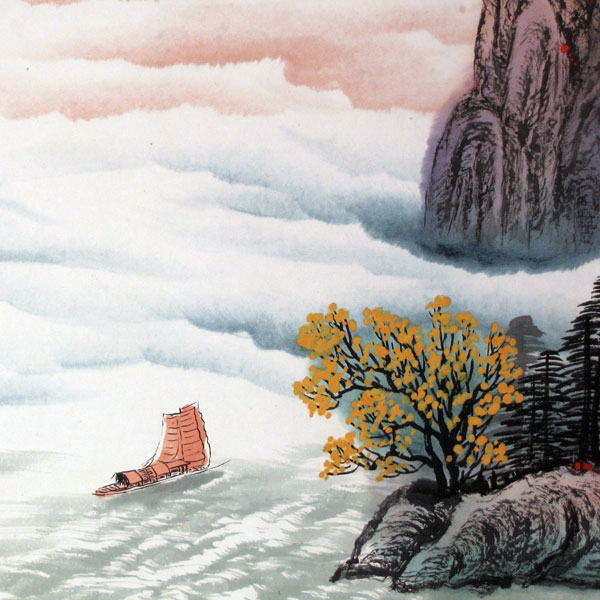 Charming Autumn - Chinese landscape painting - photo#19