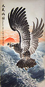Chinese bird paintings - Eagle (4)