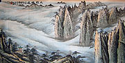 Chinese landscape paintings - The Yellow Mountains