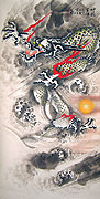 Chinese dragon paintings - Dragon Ball