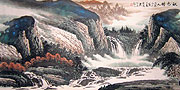 Chinese landscape paintings - Memories of Autumn