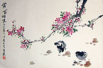 Chinese bird paintings - Chicken