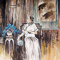 Chinese people paintings - Noblewoman