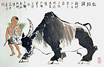 Chinese people paintings - Cowboy