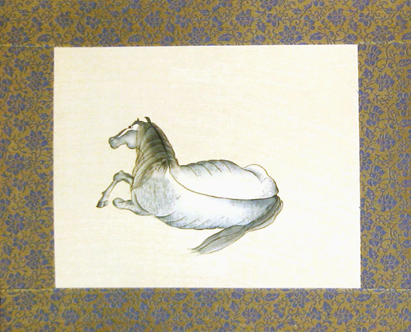 Chinese horse paintings - Silk Painting - Horse (4)