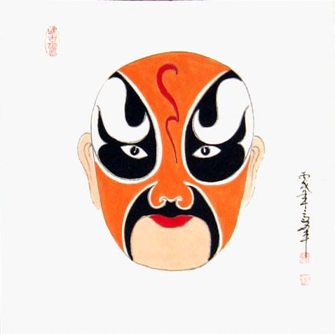 how to make a chinese mask