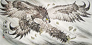 Chinese bird paintings - Eagle
