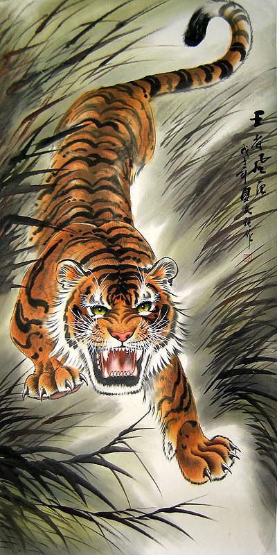 tiger-walking-downhill-tattoo