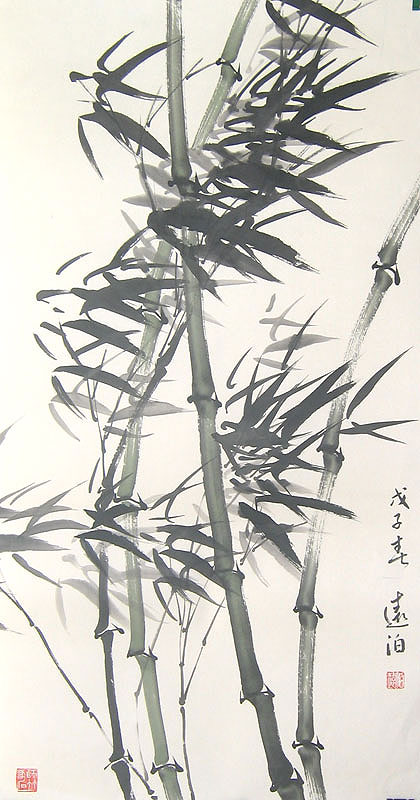 Chinese bamboo paintings - Bamboo