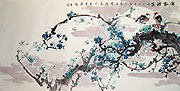 Chinese flower paintings - Plum Blossom