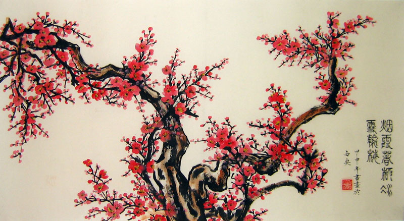 Famous Chinese Flower Paintings