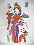 Chinese new year paintings - Yangjiabu - Being Wealthy Every Year