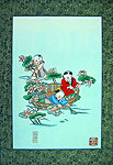 Chinese new year paintings - Yangliuqing - Picking Lotus