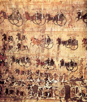 Paintings Of Qin And Han Dynasties 200b C 220